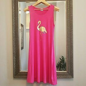 Dresses & Skirts - Flamingo sundress with pockets